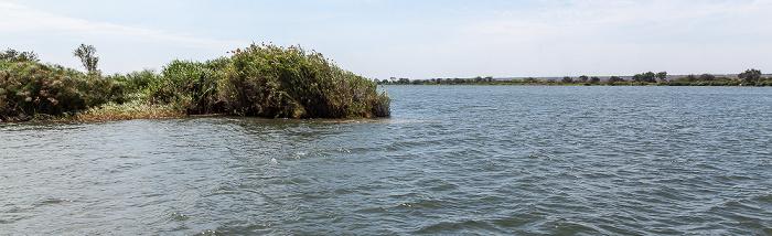 Kazungula Caprivizipfel, Zusammendfluss Chobe / Sambesi