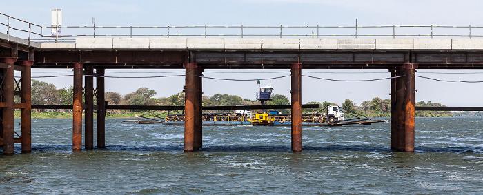 Sambesi, Kazungula Bridge, Kazungula Ferry