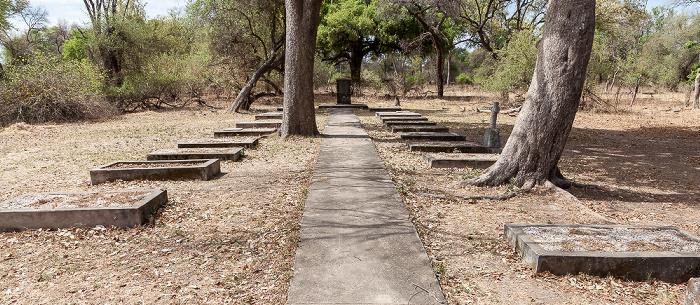 Mosi-oa-Tunya National Park Friedhof