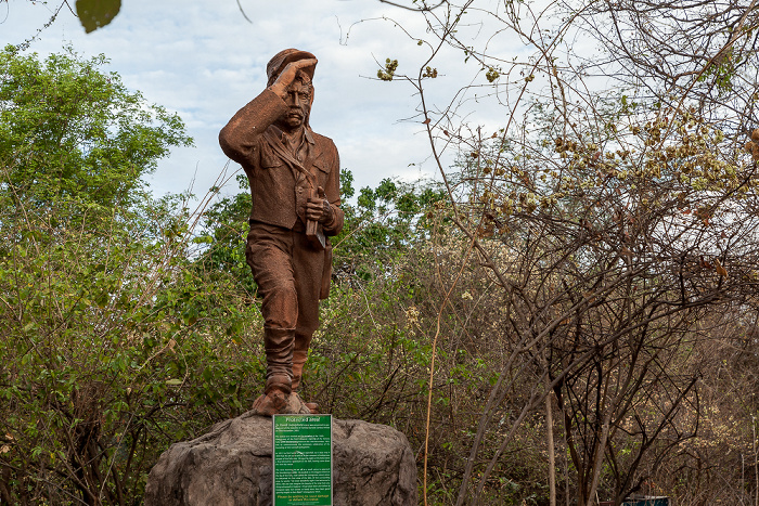 Mosi-oa-Tunya National Park David-Livingstone-Denkmal
