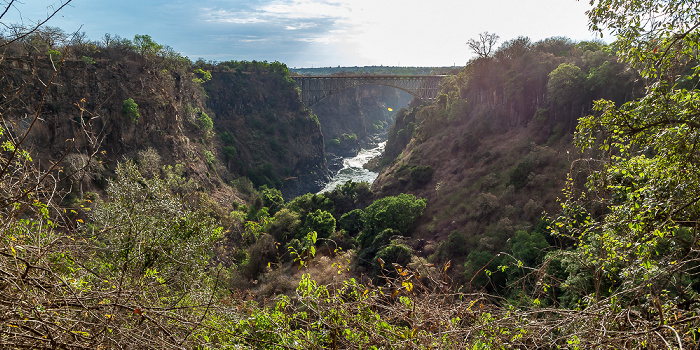 Mosi-oa-Tunya National Park Sambesi, Sambesi (Second Gorge) Victoria Falls Bridge