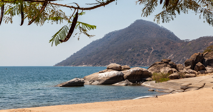 Chembe (Cape Maclear) Strand, Malawisee
