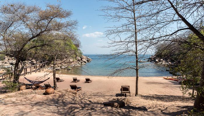 Mumbo Island Strand, Malawisee