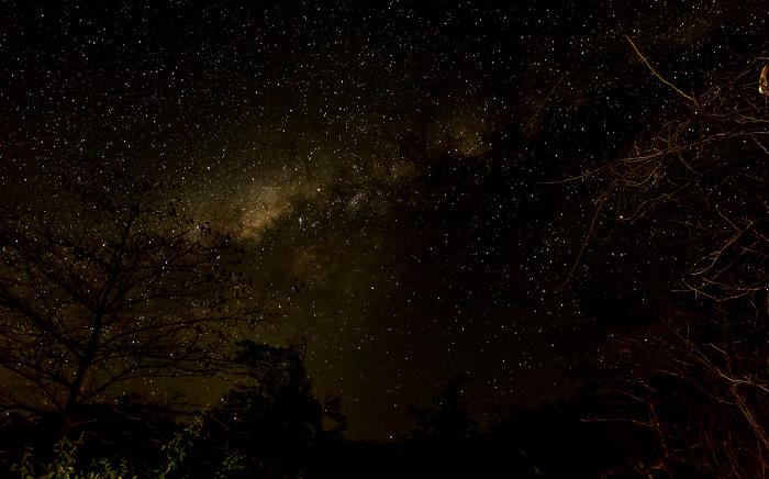 Mumbo Island Nachthimmel mit Milchstraße