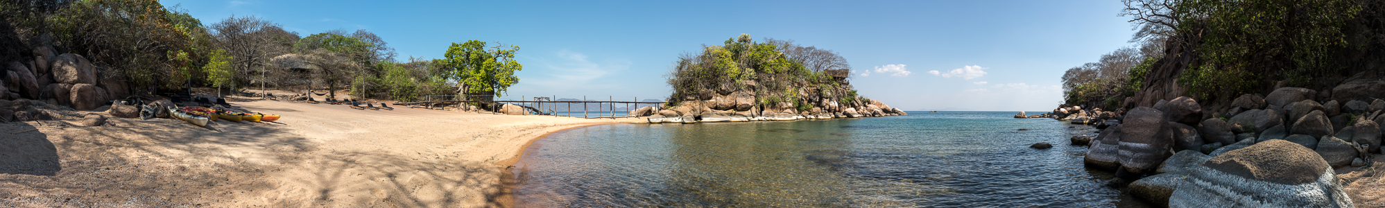 Mumbo Island Camp, Malawisee