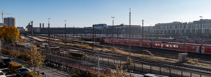 Bahnstrecke Hauptbahnhof - Pasing, Hauptbahnhof München