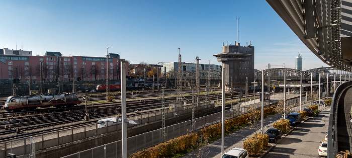 Bahnstrecke Hauptbahnhof - Pasing, S-Bahnhof Hackerbrücke, Hackerbrücke München
