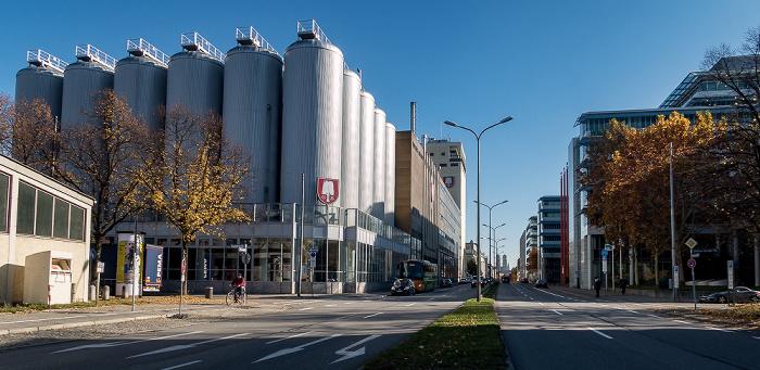 Marsstraße: Spatenbräu-Brauerei München