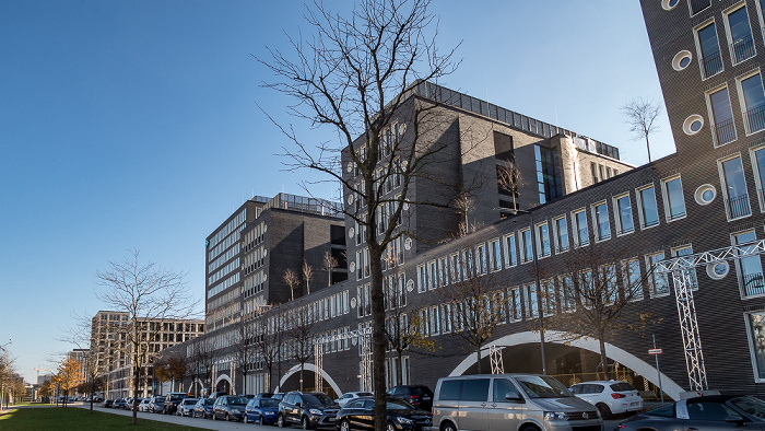 Arnulfpark: Kontorhaus (Google Deutschland) München