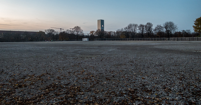 Olympiapark: Grundstück der ehem. Event-Arena (Radstadion) bzw. des SAP Garden München