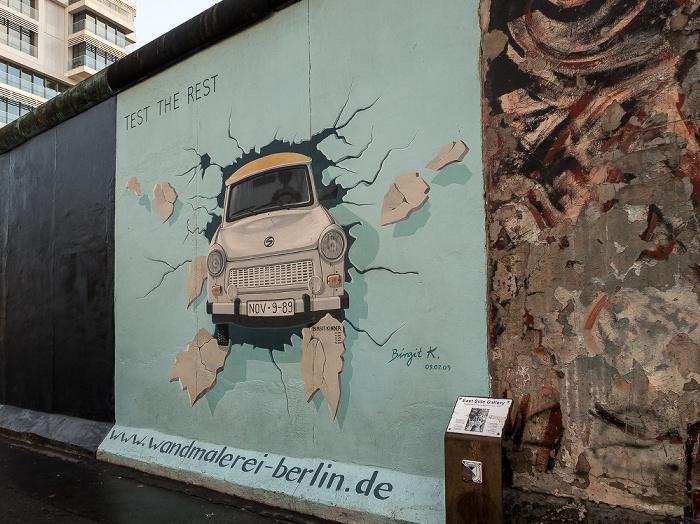 Friedrichshain: East Side Gallery Berlin