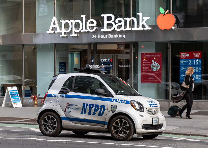New York 7th Avenue Apple Bank (7th Avenue)