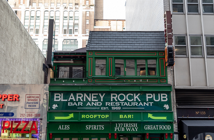 New York West 33rd Street: Blarney Rock Pub