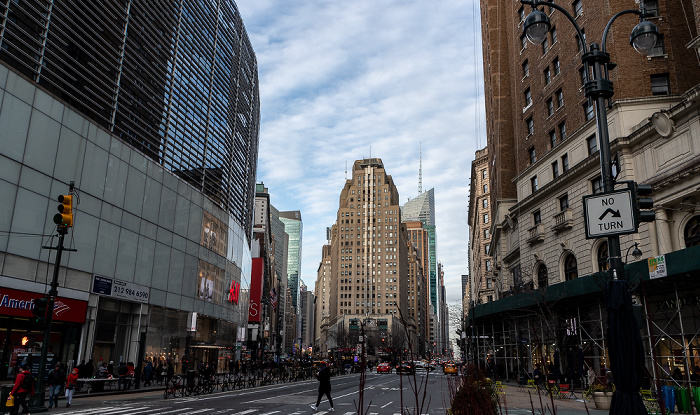 6th Avenue (Avenue of the Americas) / Broadway New York City