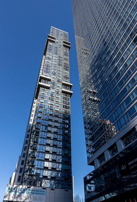 Hell's Kitchen: West 42nd Street - The Atelier Building (links), Sky (605 West 42nd Street) New York City