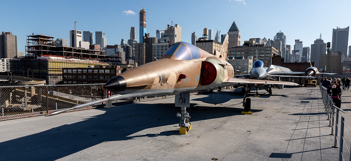 Intrepid Sea, Air & Space Museum: Israel Aircraft Industries Kfir New York City