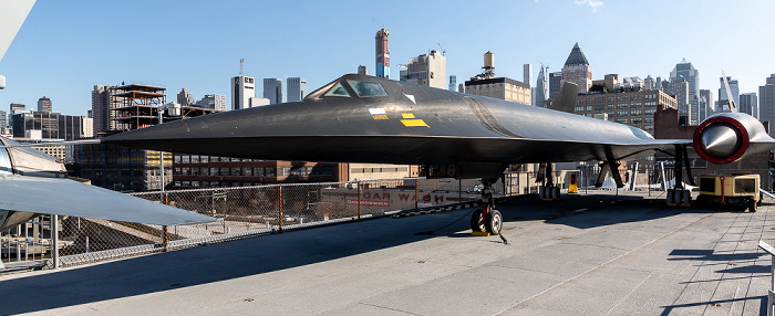Intrepid Sea, Air & Space Museum: Lockheed A-12 New York City