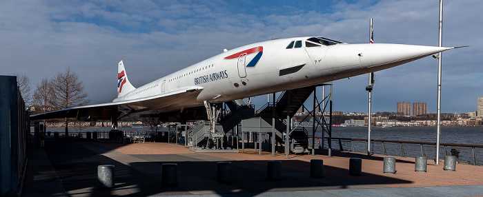 Intrepid Sea, Air & Space Museum: British Airways Concorde (G-BOAD) New York City