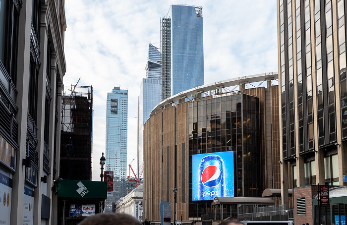 New York 31st Street: Madison Square Garden