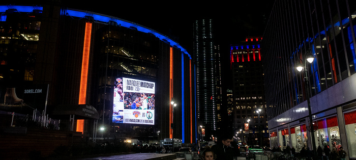 New York City 33rd Street: Madison Square Garden