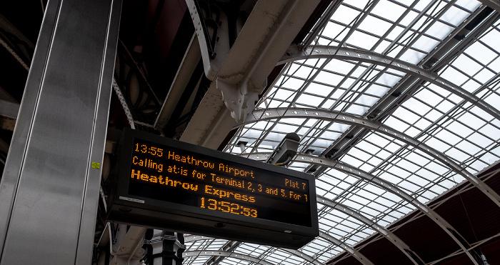 London Paddington Station London