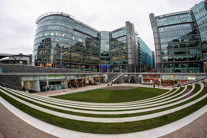 Paddington Waterside: Sheldon Square (PaddingtonCentral) London