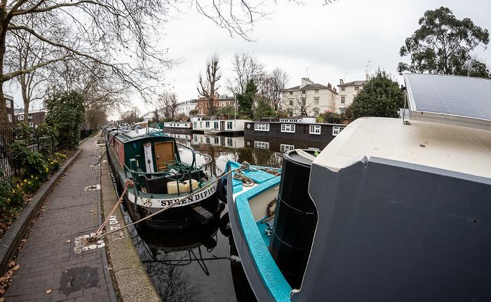 London Little Venice: Grand Union Canal