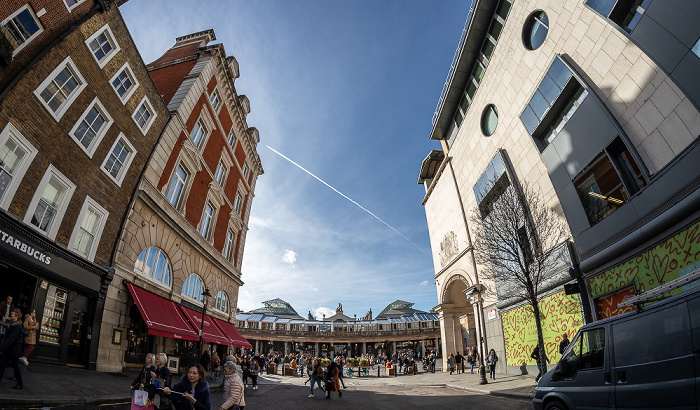 Covent Garden: Russell Street London