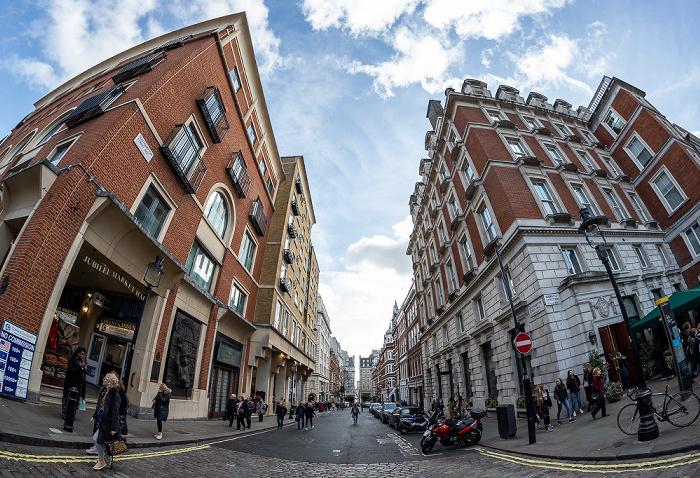 Covent Garden: Southampton Street / Henrietta Street London