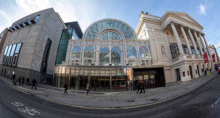 Covent Garden: Bow Street - Royal Opera House London