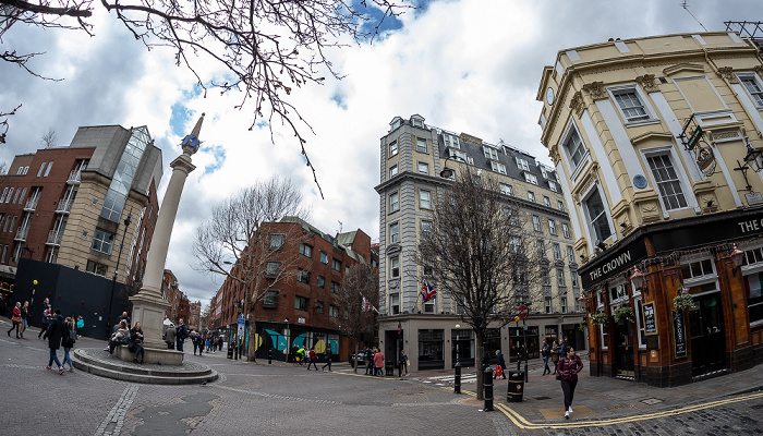 Covent Garden: Seven Dials London