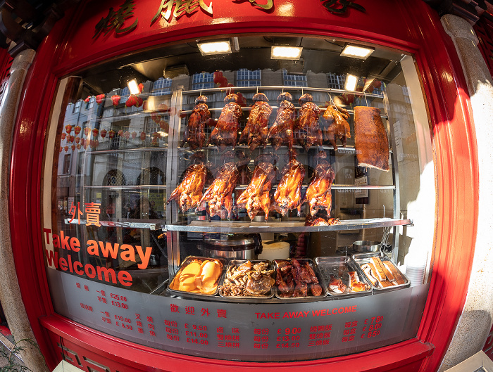 London Soho: Chinatown - Lisle Street
