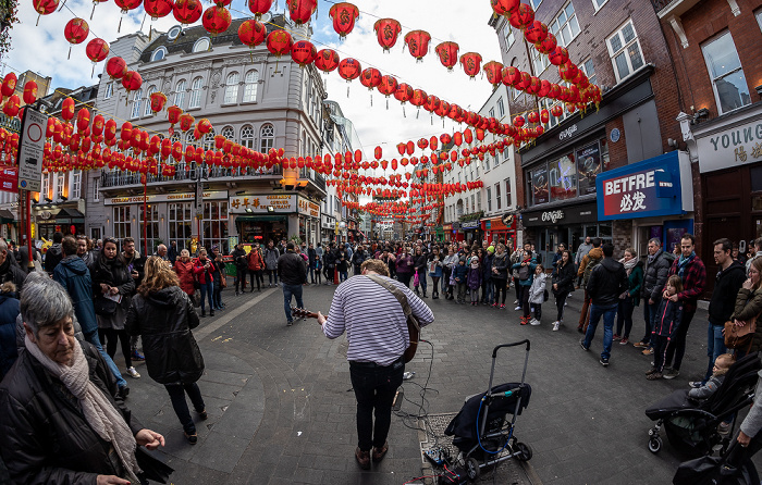 Soho: Chinatown - Wardour Street / Gerrard Street London