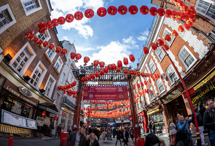Soho: Chinatown - Gerrard Street London
