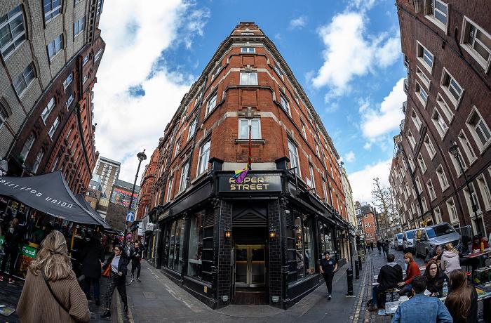Soho: Rupert Street / Winnett Street - Rupert Street Bar London