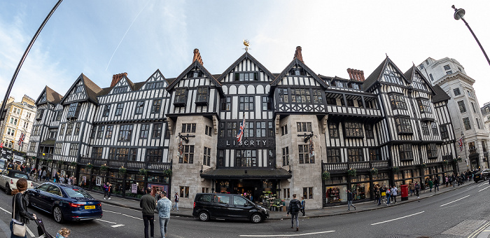 Soho: Great Marlborough Street - Liberty's London