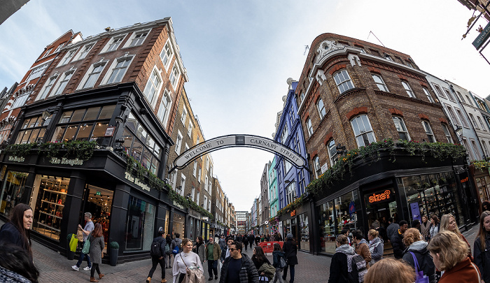 Soho: Foubert's Place / Carnaby Street London