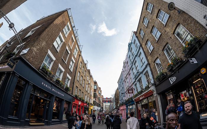 London Soho: Carnaby Street