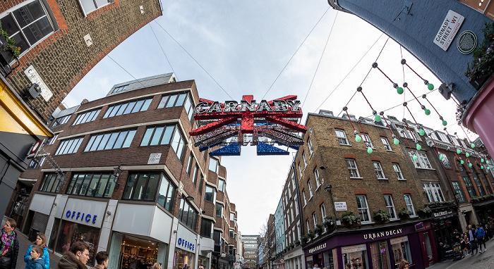 London Soho: Carnaby Street / Ganton Street