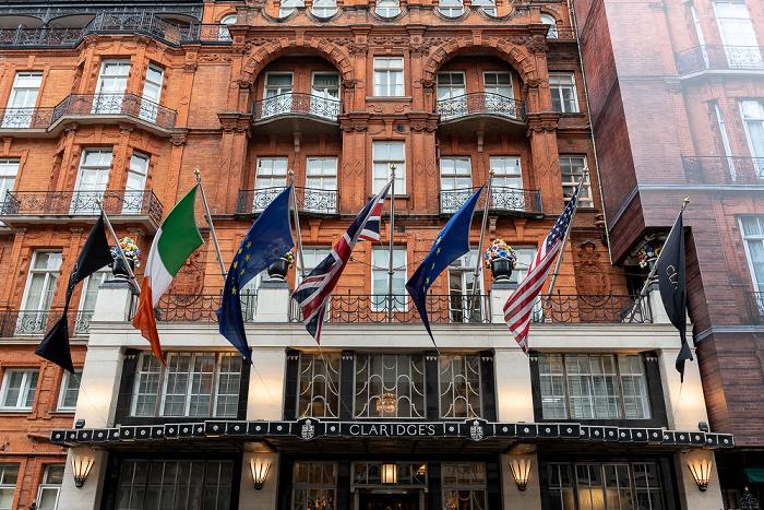London Mayfair: Brook Street - Claridge's