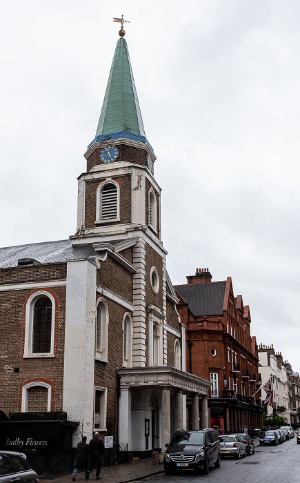 London Mayfair: South Audley Street - Grosvenor Chapel