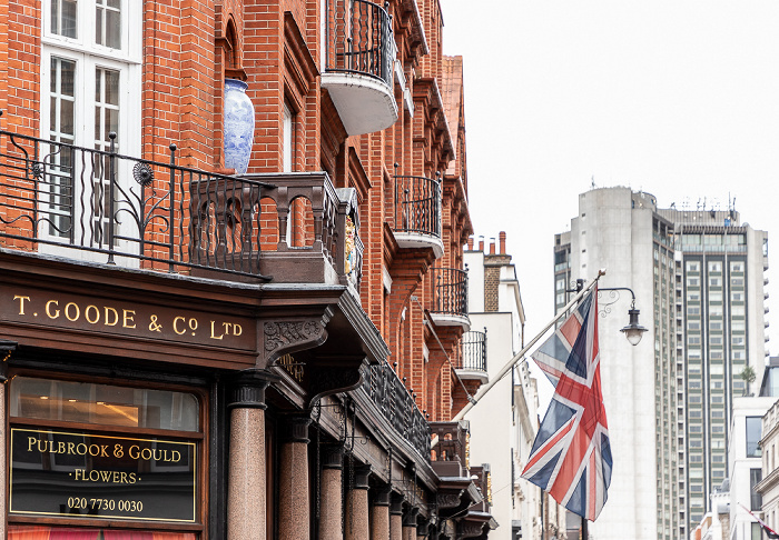London Mayfair: South Audley Street - Thomas Goode London Hilton on Park Lane