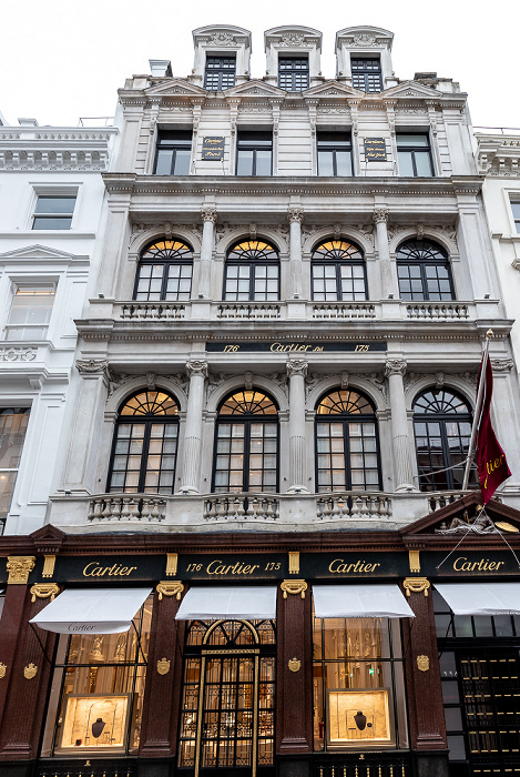 London Mayfair: New Bond Street - Cartier