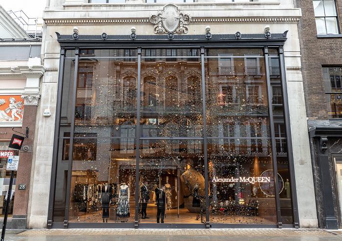 London Mayfair: Old Bond Street - Alexander McQueen
