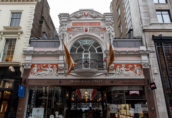 Mayfair: Old Bond Street - Royal Arcade London