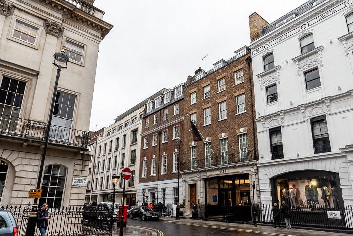 London Mayfair: Burlington Gardens / Savile Row 3 Savile Row