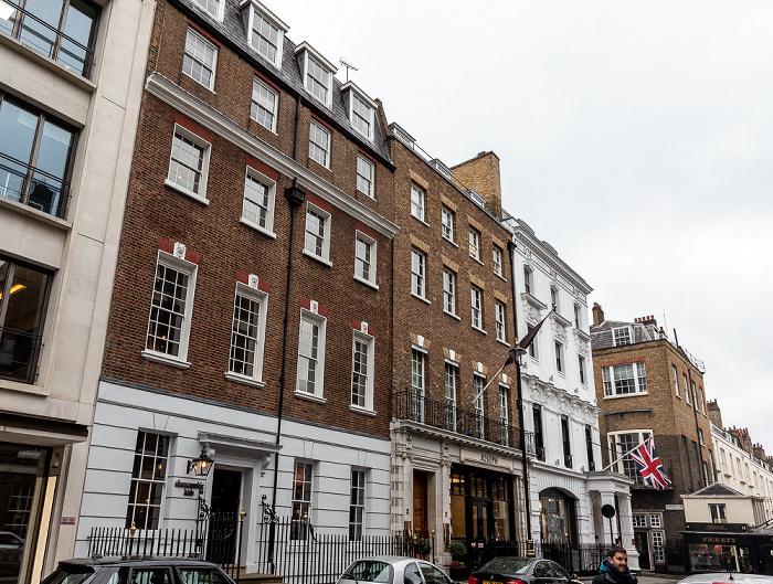 Mayfair: Savile Row London