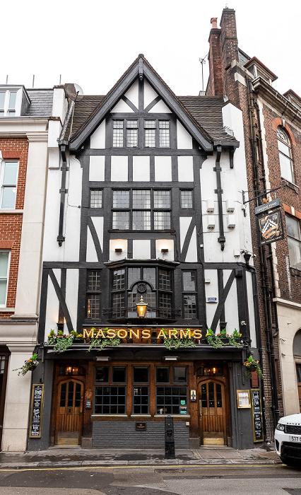 London Mayfair: Maddox Street - Masons Arms