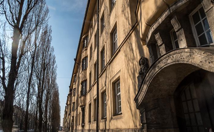 Landsberger Straße: Hauptzollamt München