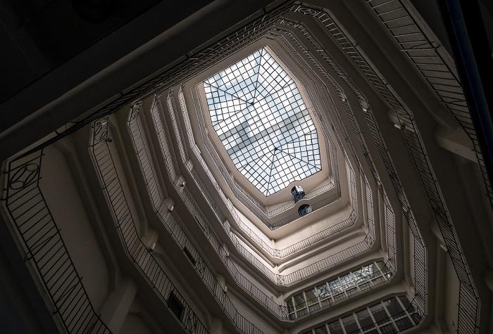 Hauptzollamt: Lichtschacht und Kuppel München